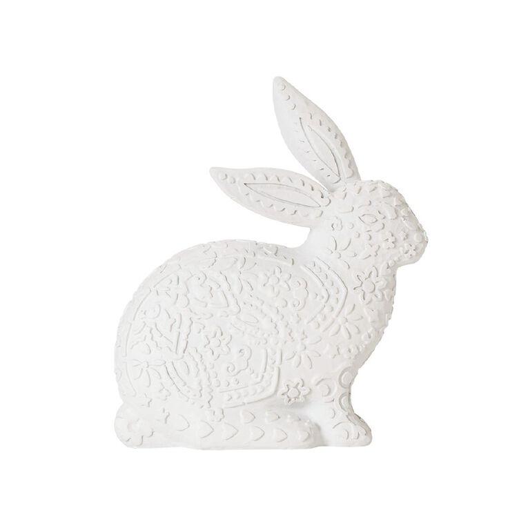 Living & Co Bunny Ornament White, , hi-res