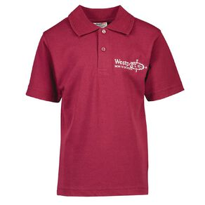 Schooltex Westport North Short Sleeve Polo with Embroidery