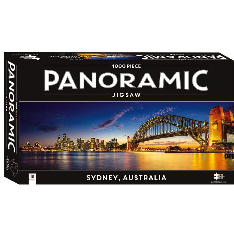 Hinkler Panoramic 1000 Piece Jigsaw Sydney, , hi-res