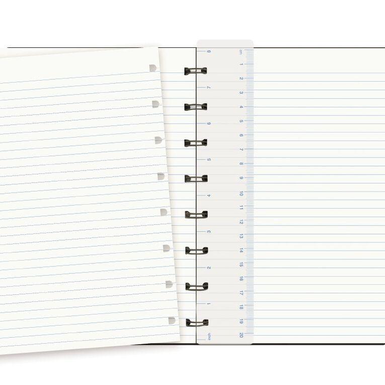 Filofax Refillable Notebook Black A5, , hi-res