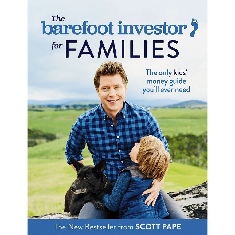 The Barefoot Investor for Families by Scott Pape, , hi-res image number null