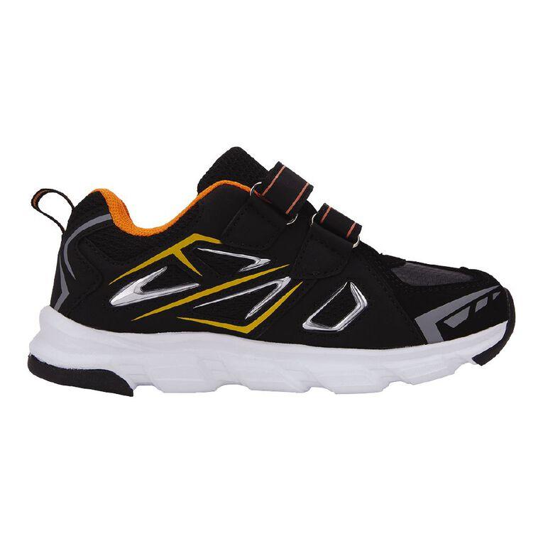 Active Intent Kids' Tag Shoes, Black/Orange, hi-res