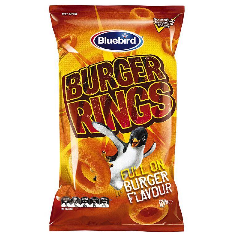 Bluebird Burger Rings 120g, , hi-res