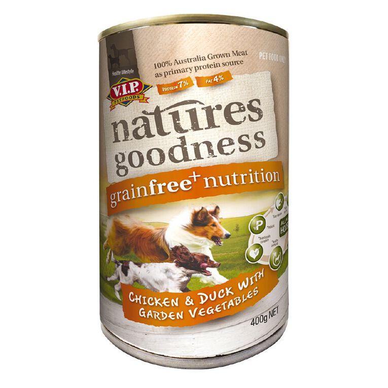 Natures Goodness Dog Chicken/Duck and Garden Vegetables 400g, , hi-res