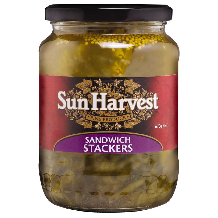 Sun Harvest Sandwich Stackers 670g, , hi-res