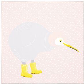 Living & Co Kiwi Bird Trio Canvas 30 x 90 x 1.8cm