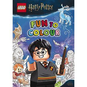 LEGO Harry Potter: Fun to Colour