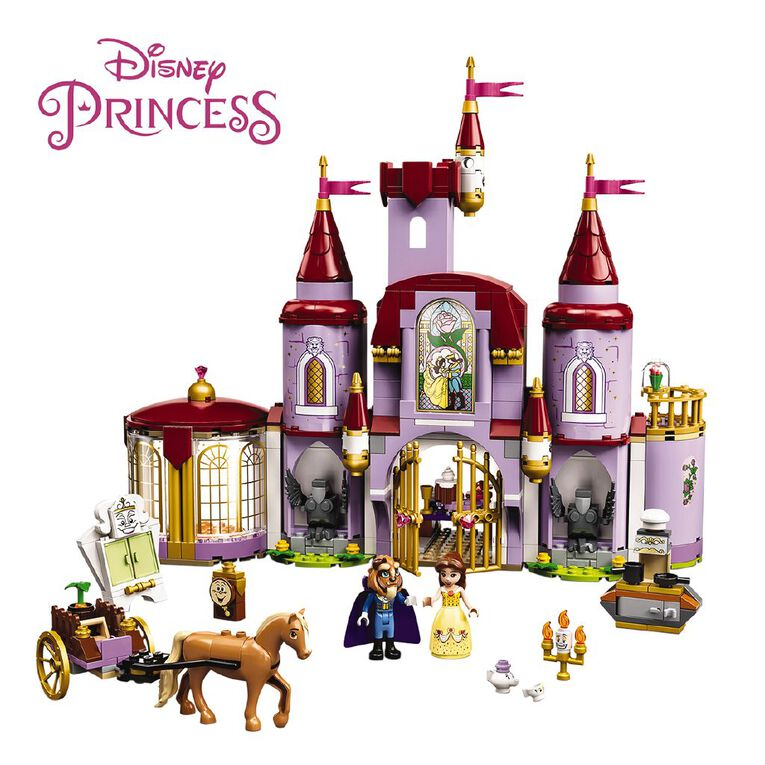LEGO Disney Princess Belle and the Beast's Castle 43196, , hi-res