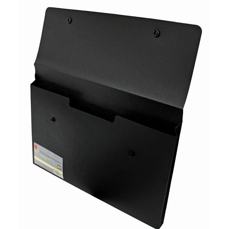 GBP Stationery Eco Document Wallet Black, , hi-res