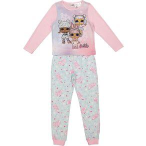 LOL Girls' Long Sleeves Pyjamas