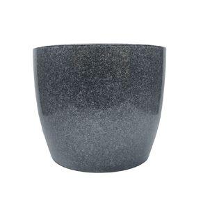 Kiwi Garden Reactive Glaze Pot 22cm