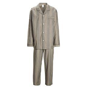 H&H Men's Woven Stripe Pyjama