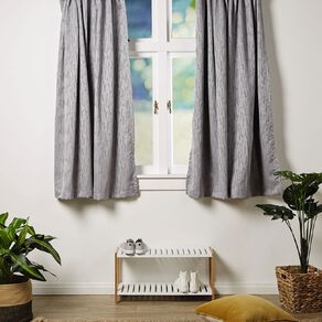 Living & Co Smudge Curtains Silver