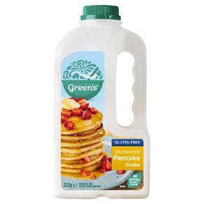 Green's Buttermilk Pancake Shake Gluten Free 300g
