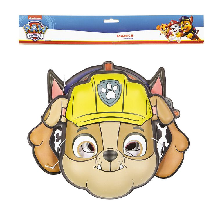 Paw Patrol Masks 4 Pack, , hi-res