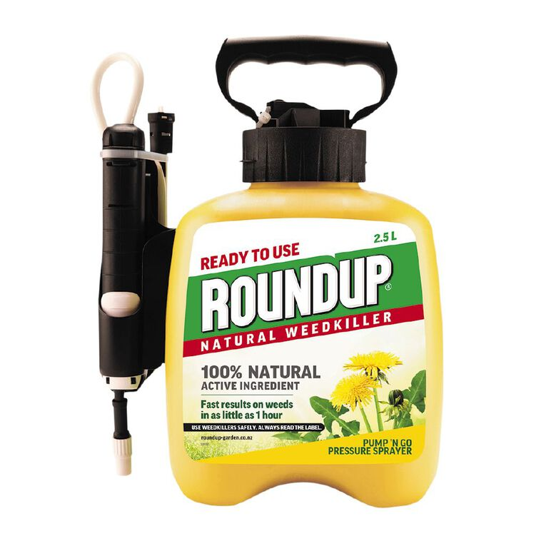 Roundup Natural Pump N Go Ready To Use 2.5L, , hi-res