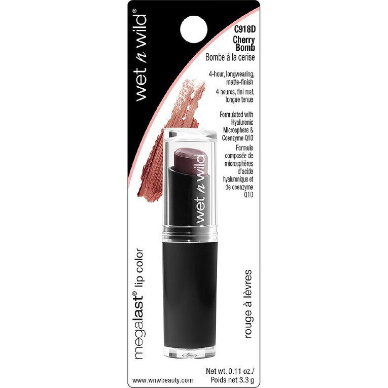 Wet n Wild MegaLast Lip Color Cherry Bomb, , hi-res