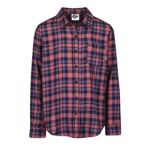 Young Original All Over Print Check Shirt