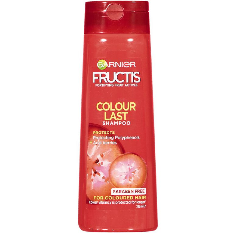 Garnier Fructis Colour Last Shampoo 315ml, , hi-res