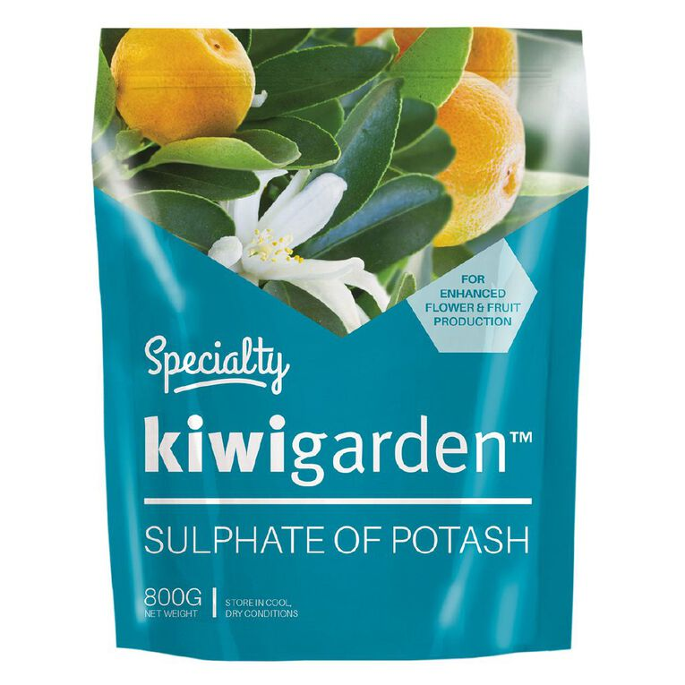 Kiwi Garden Specialty Sulphate of Potash 800g, , hi-res