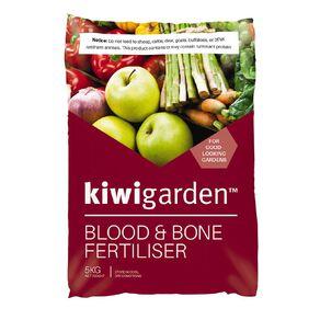 Kiwi Garden Blood & Bone Fertiliser 5kg