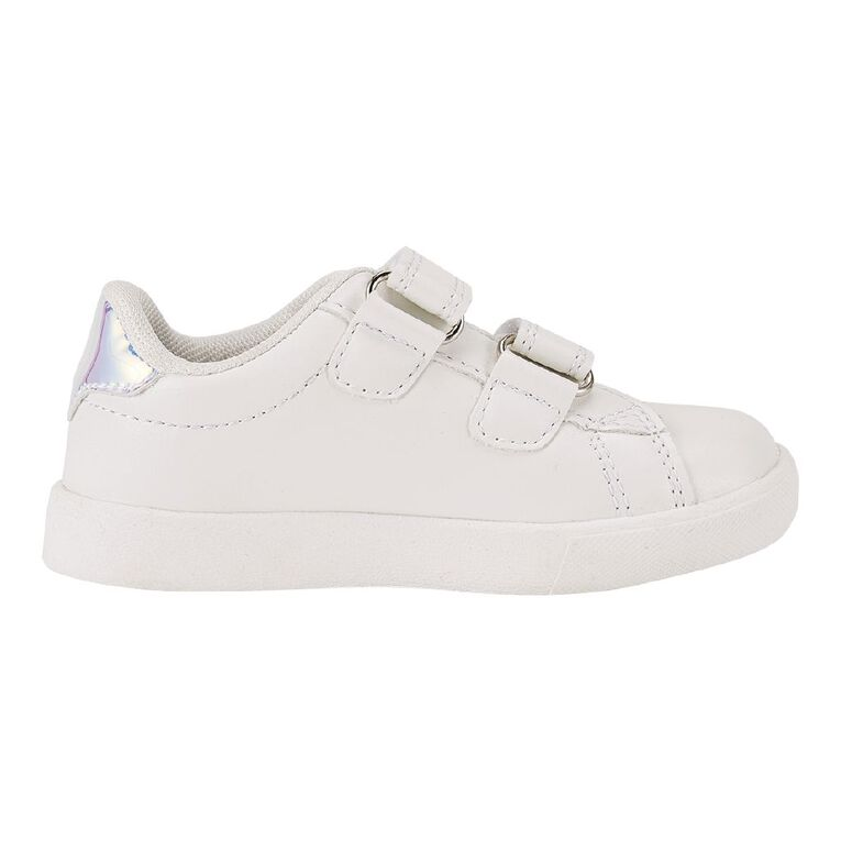 Young Original Girls' Rainbow Shoes, White, hi-res