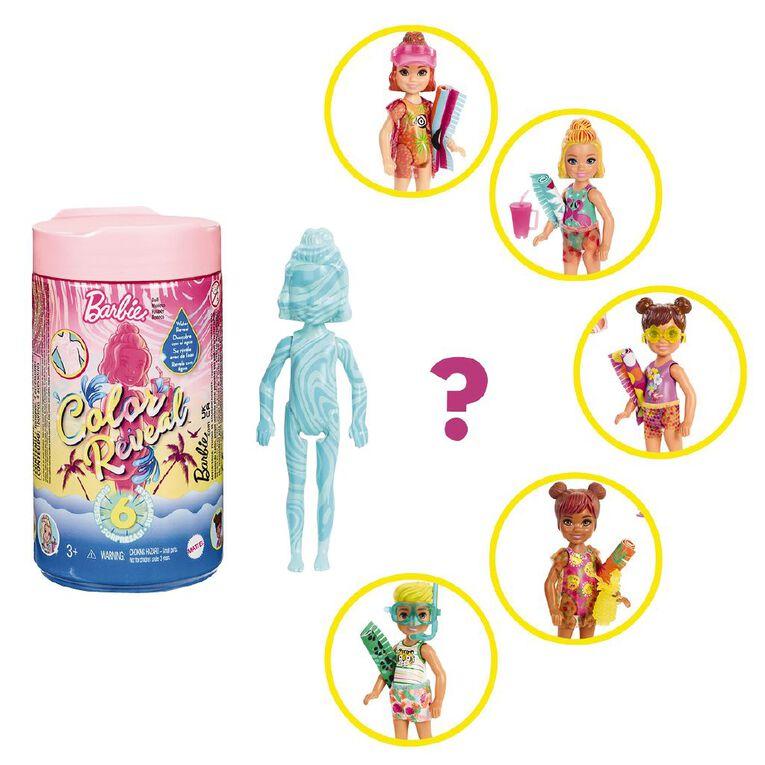 Barbie Colour Reveal Chelsea Sand & Sun Series, , hi-res