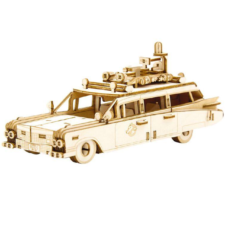 Ghostbusters Incredibuilds Ectomobile 3D Wooden Model, , hi-res