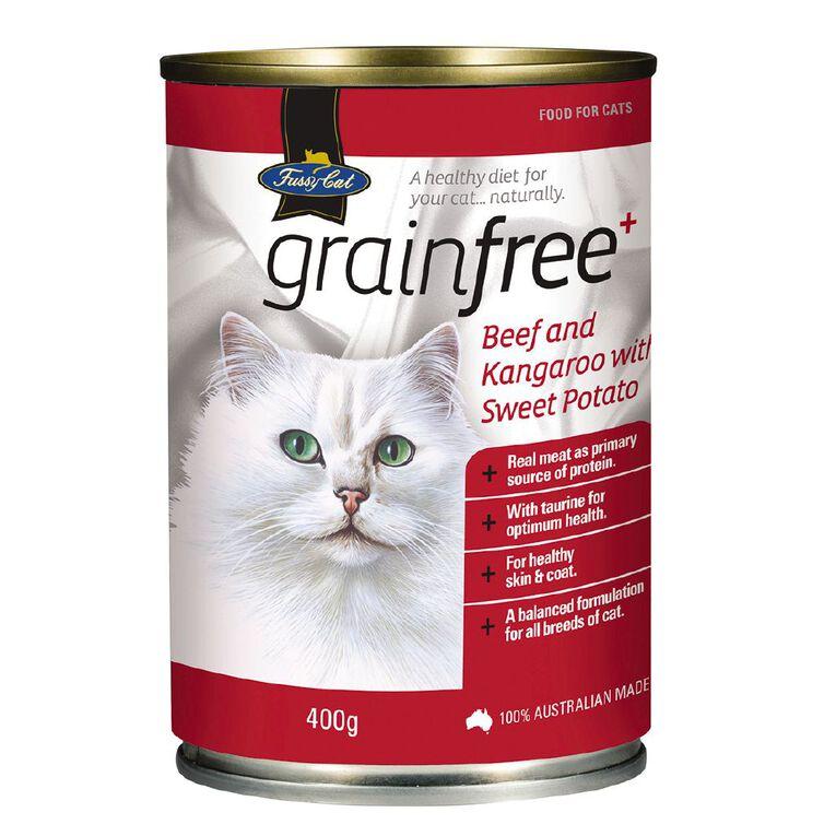 Fussy Cat Grain-Free Beef & Kangaroo with Sweet Potato 400g, , hi-res