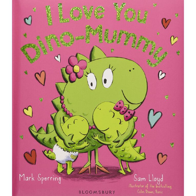 I Love You Dino-Mummy by Mark Sperring, , hi-res