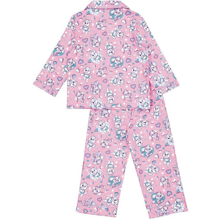 Paw Patrol Kids' Flannelette Pyjamas, Pink, hi-res