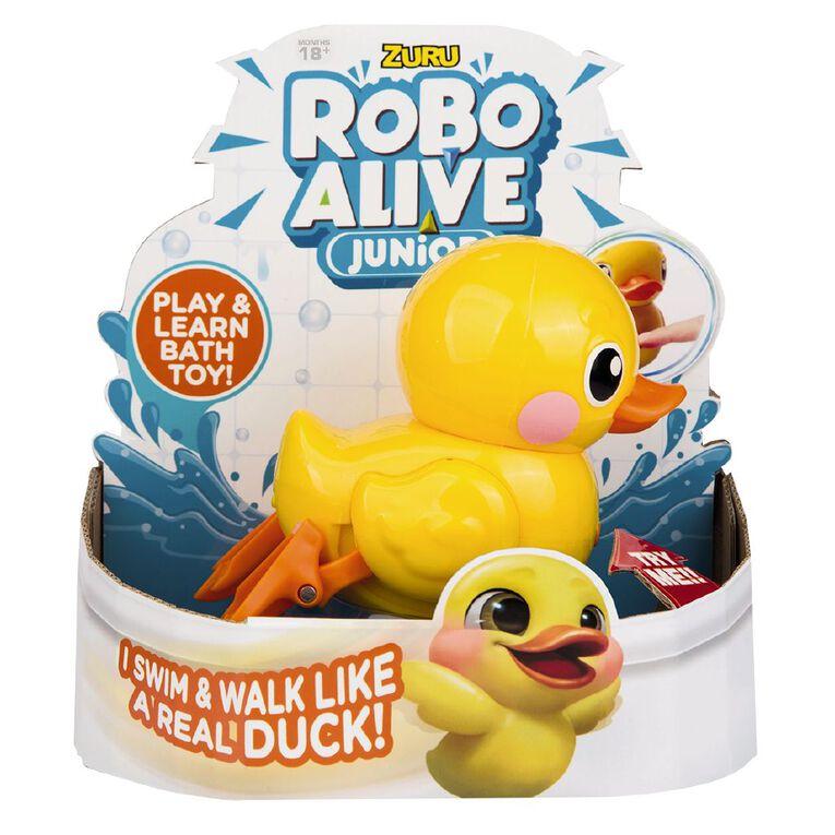 Zuru Robo Alive Junior Robotic Duck Assorted, , hi-res