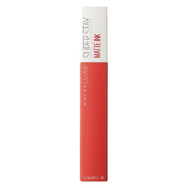 Maybelline SuperStay Matte Ink Liquid Lipstick - Heroine 25, , hi-res