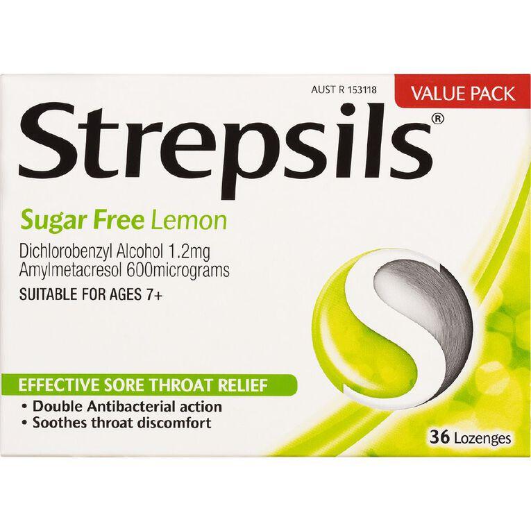 Strepsils Sugar Free Lozenges 36s, , hi-res