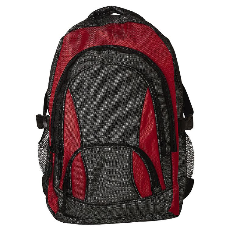 B52 B52 Tech Backpack, Red Mid, hi-res