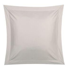 Living & Co Pillowcase Euro Cotton 400 Thread Count Grey 65cm x 65cm