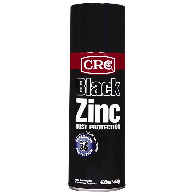CRC Zinc Aerosol Black 400ml, , hi-res