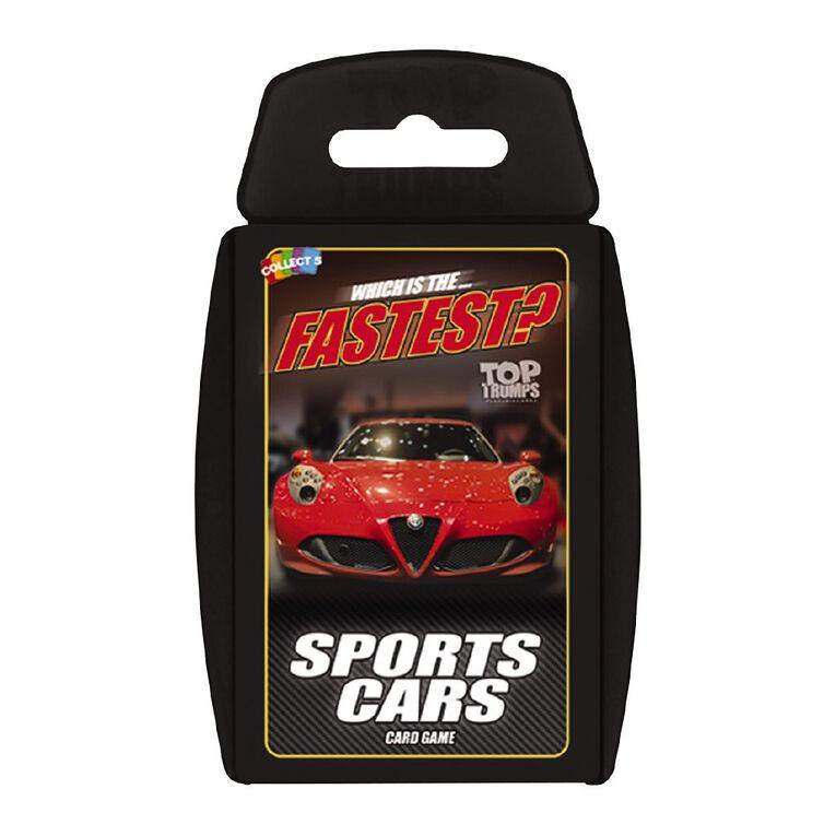 Sports Cars Top Trumps Game, , hi-res