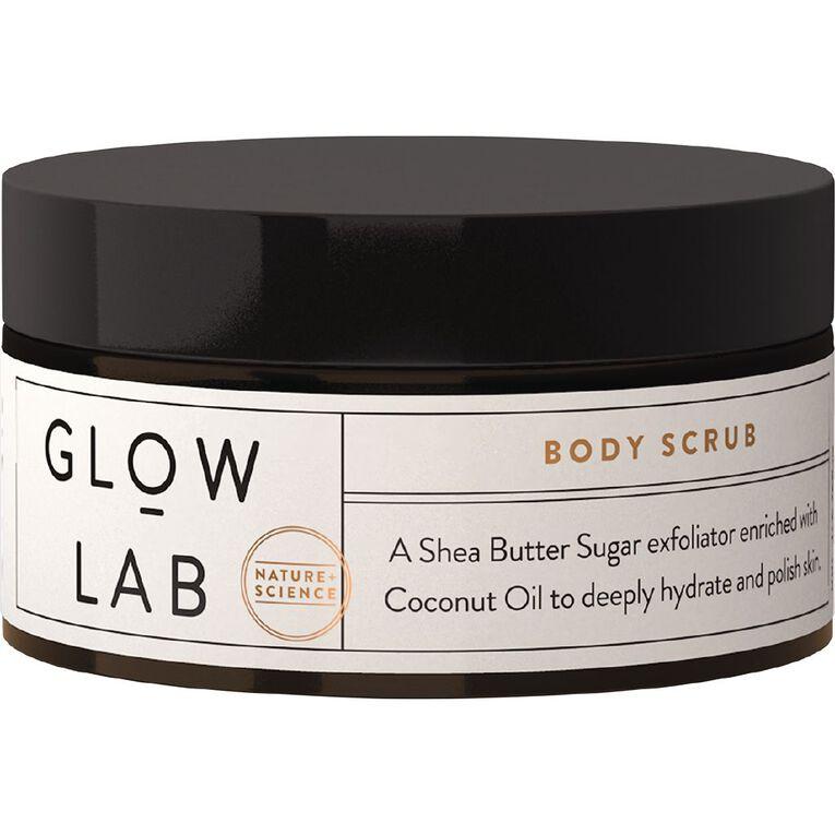 Glow Lab Body Scrub Coconut 200ml, , hi-res