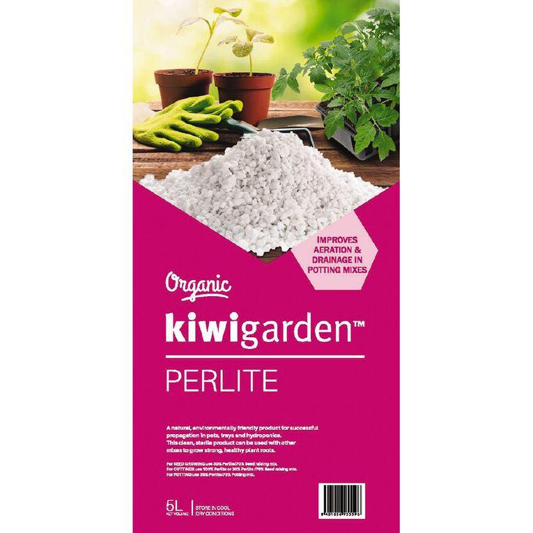 Kiwi Garden Organic Perlite 5L, , hi-res