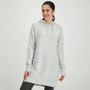 H&H Women's Longline Knit Hoodie