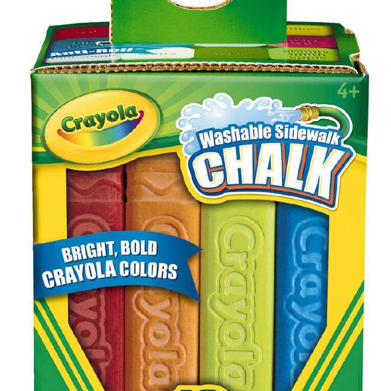 Crayola Sidewalk Chalk 12 Pack, , hi-res