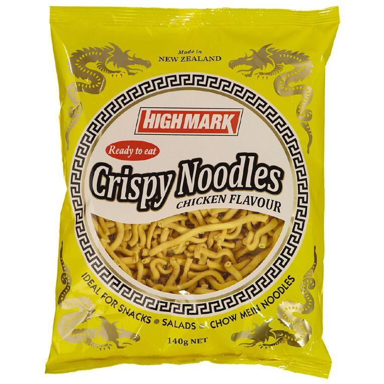 High Mark Crisp Noodles Chicken 140g, , hi-res