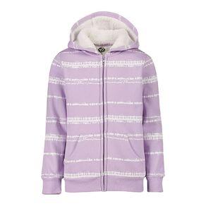 Young Original Girls' Zip-Thru Sherpa Sweatshirt