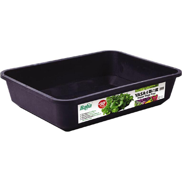 Baba Super Vegetable Tray Black, , hi-res