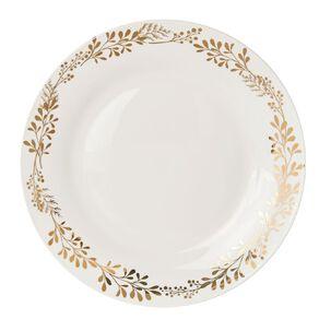 Wonderland Christmas Foil Dinner Plate 26cm