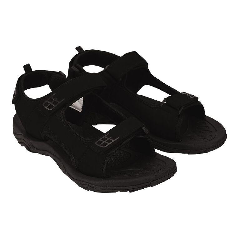 H&H Saford Sandals, Black, hi-res