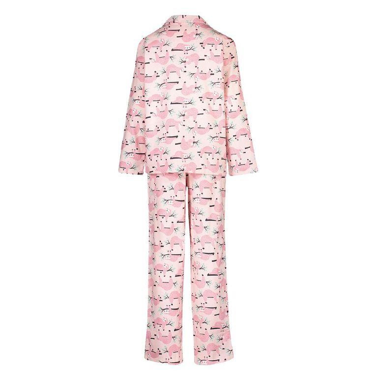 H&H Kids' Flannelette Pyjamas, Pink Light, hi-res image number null