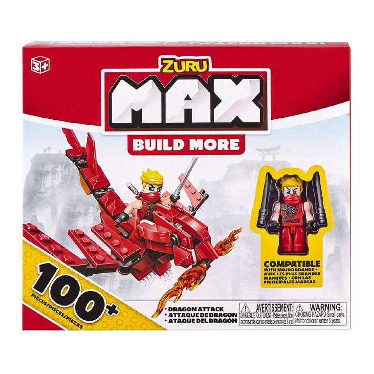 Zuru Max Build More Construction Value Brick Pack 100+ Assorted, , hi-res image number null