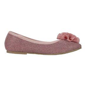 Young Original Girls' Flower Ballet Shoes